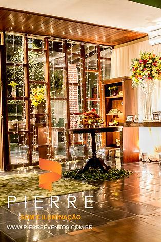 Iluminação decorativa - Casamento