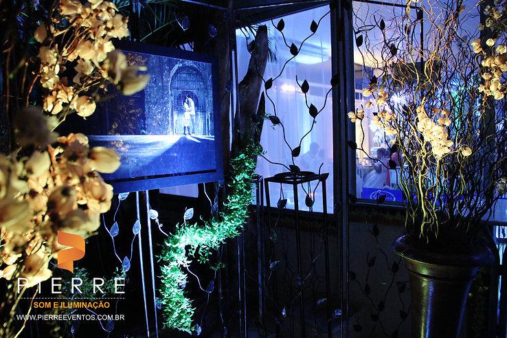 Iluminação Cerimonia area externa