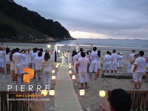 cerimonia na praia