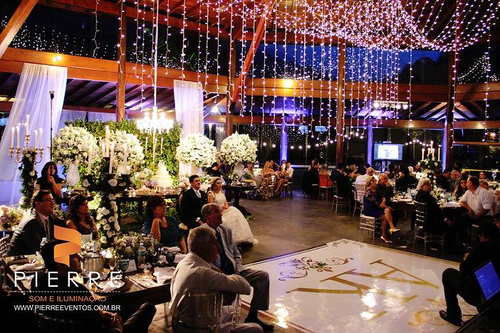 iluminação cênica aerea e decorativa - casamento