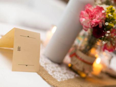 Hashtag no casamento: por que você deveria criar a sua?