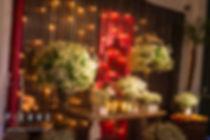 iluminação decorativa -Casamento em Santos