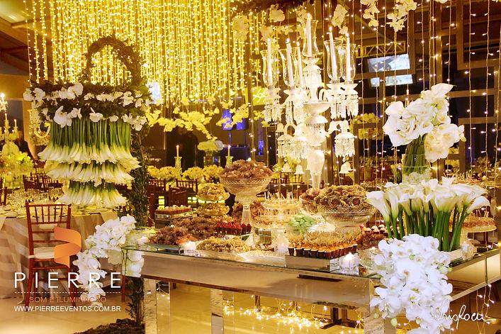 som para festas e eventos , iluminação para casamento