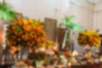iluminação para mes do bolo casamento luiza Doria - Santos /sp