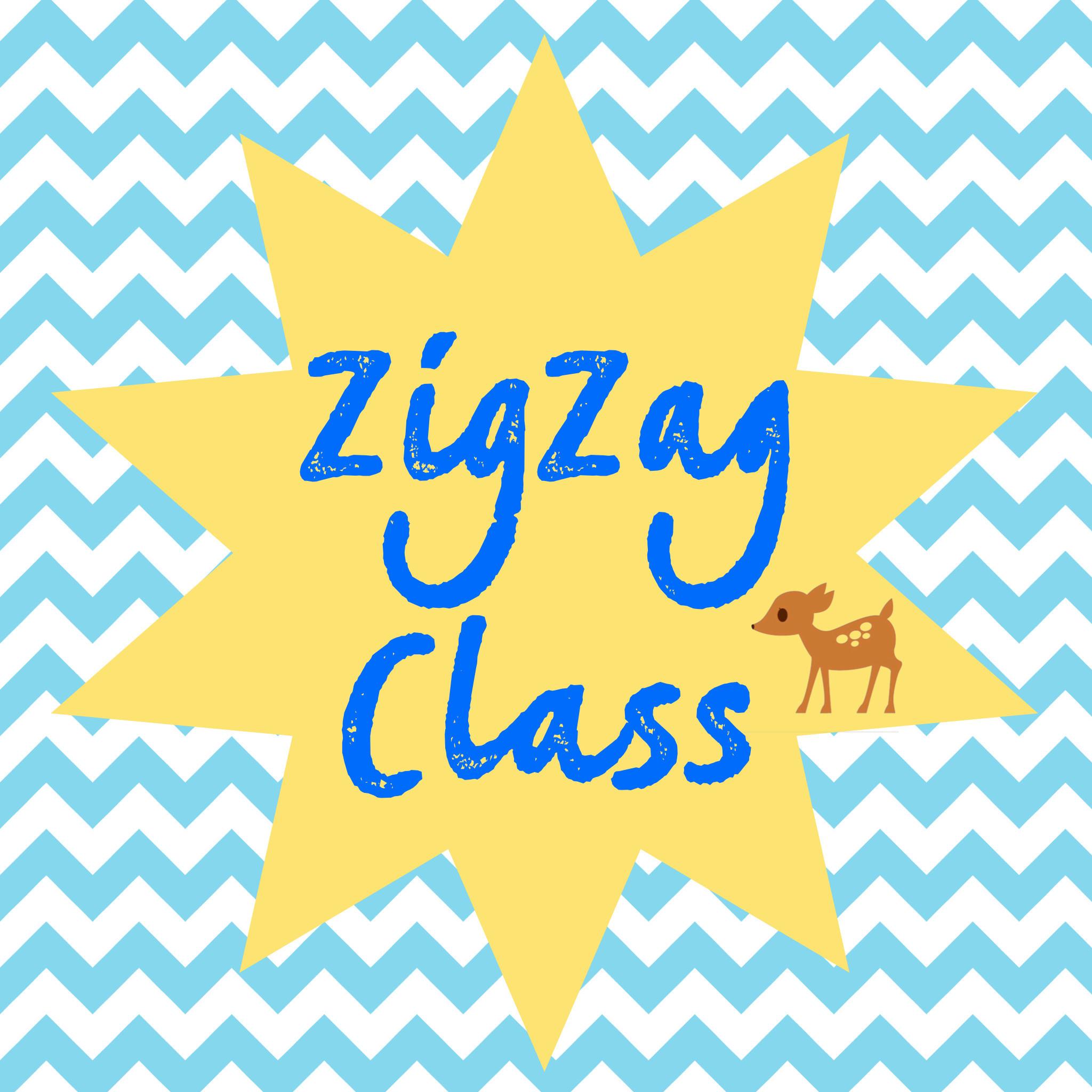 ZigZag Class Monday 10:45 Autumn Term