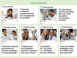 Suprema Três Rios completa um ano com satisfação total de seus futuros médicos