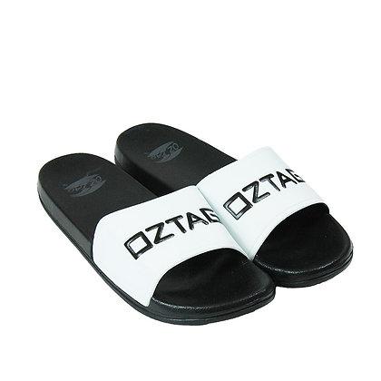 OZTAG SLIDES - WHITE/BLACK