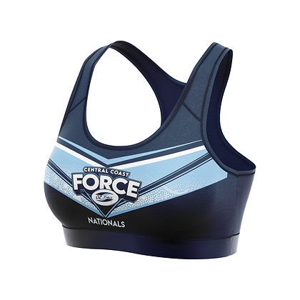 CENTRAL COAST FORCE SNRS CROP TOP