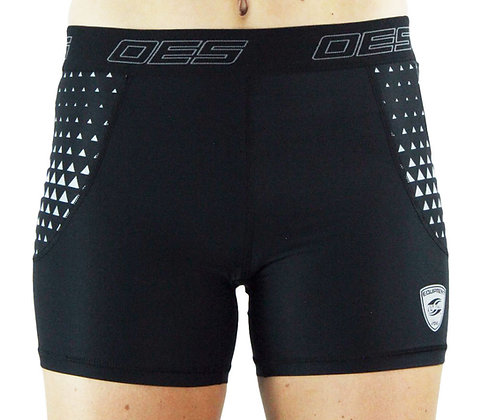 LADIES COMPRESSION BOOTY SHORT