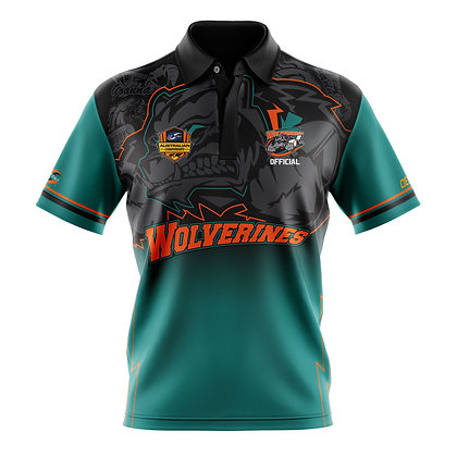 WOLVERINES OFFICIALS LADIES POLO