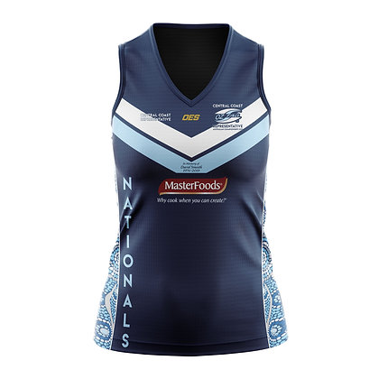CENTRAL COAST FORCE SNRS LADIES SINGLET