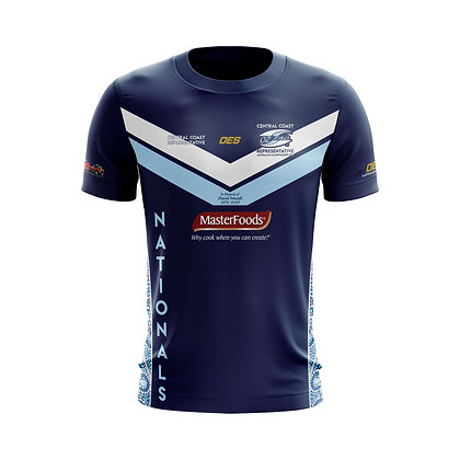 CENTRAL COAST FORCE SNRS MENS PLAYING TEE