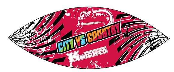 CITY VS COUNTRY FOOTBALL SIZE 5