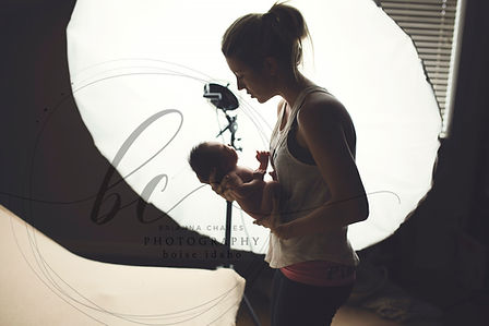 BC Photography Pricing Boise, Idaho baby studio session