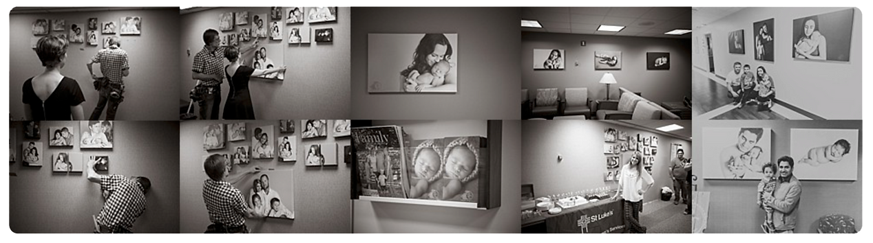 St. Luke's Hospital, Boise, Meridian, Nampa, Idaho hospital, Mother and Baby portrait photographers
