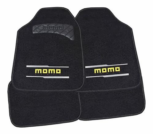 Tapete Para Auto Momo Mat Black And Grey V