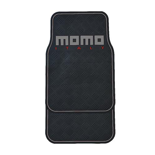 Tapete De Hule Para Auto Momo Mat Pvc Black And Grey