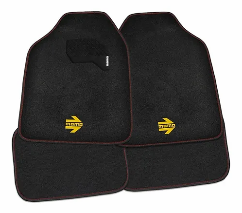 Tapete Para Auto Momo Mat Black And Red II
