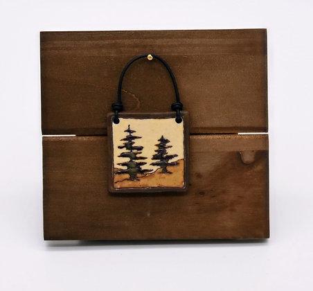 Pine Tree Hanging Tile