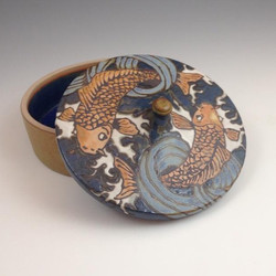 #koi #pottery #sassafrasspottery #artsan