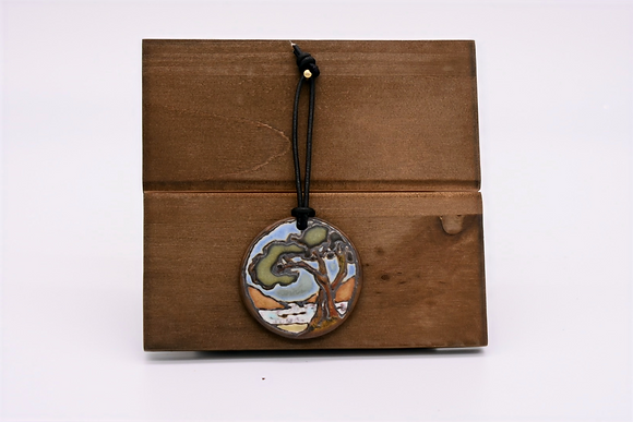 Coastal Tree Hanging Tile