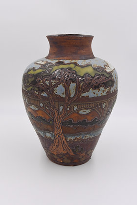 Large Amador Colorado Street Bridge Vase