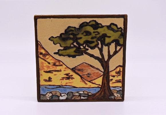 """7 1/4"""" Tree Tile"""