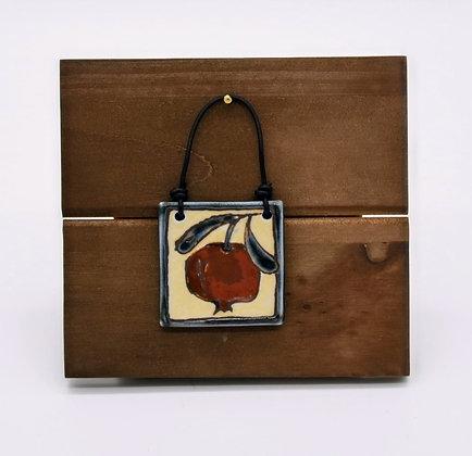 Pomegranate Hanging Tile