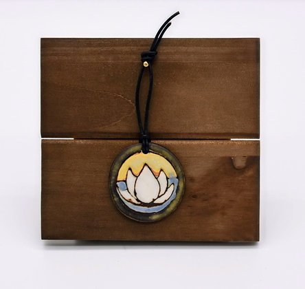 Lotus Flower Hanging Tile