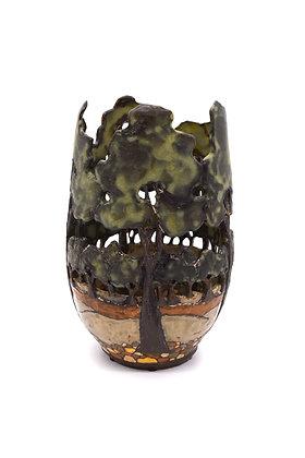 Cut-through Tree Vase