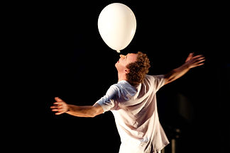 The Moon's a Balloon, Patch Theatre, photo Dave Brown