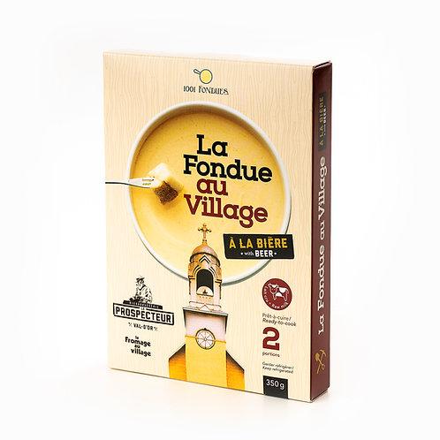 La Fondue au Village - Le Prospecteur !