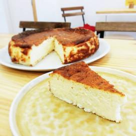 Tarta de queso al estilo de San Sebastian