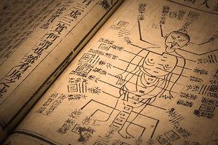 Akupunktur altes Buch