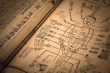 Akupunktur gammel bog