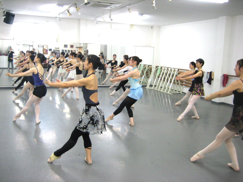 バレエ初中級体験