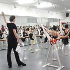 外国人講師バレエ講習会 ワークショップ