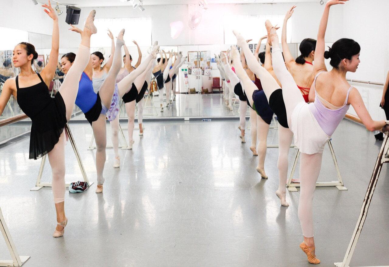 バレエ中級体験
