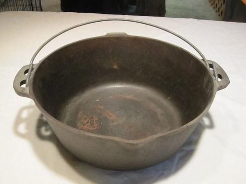 cast iron kettle no lid 4 qt