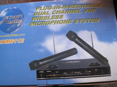 AWM 6112 Audio 2000s, wireless microphone system