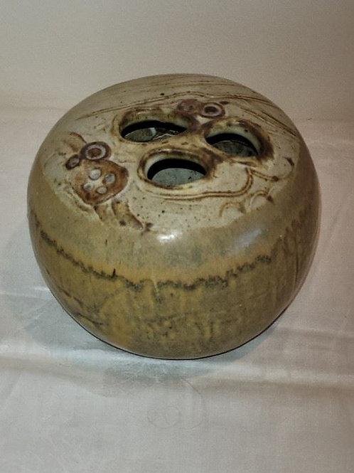"MCM Studio Art Pottery Pot | Signed - 10"""