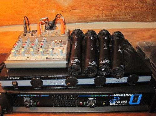 Podium Pyle Pro DJ sound complete