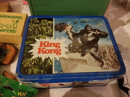 King Kong Lunch box no thermos vg condition