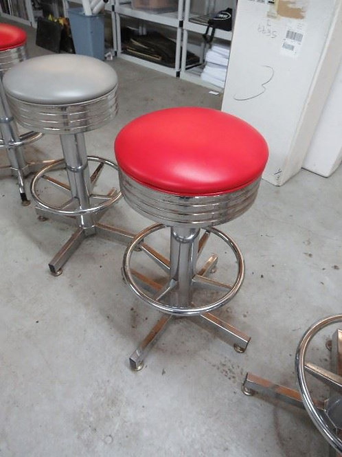 1st Building, Red chrome stool