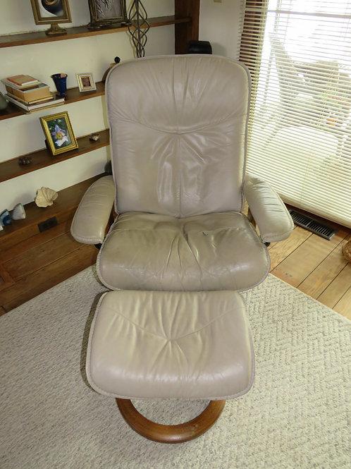 $150 ea. Ekornes Stress Chair & Ottomon (2 Available)