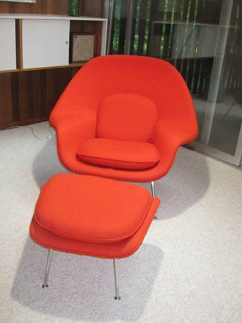 Knoll Womb Chair, original fabric VG condition - BEST OFFER OVER $3000 EMAIL US