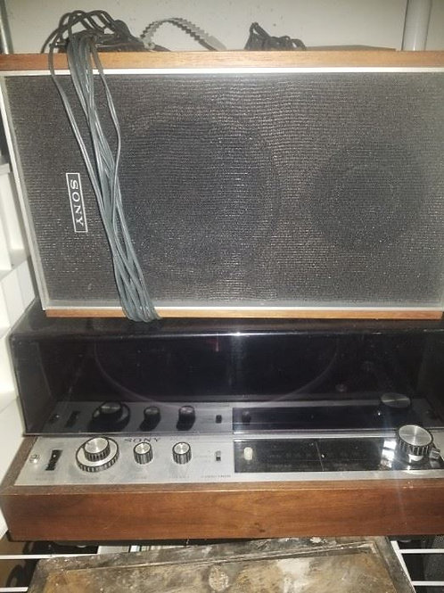 Sony HP 180 turntable console and speakers