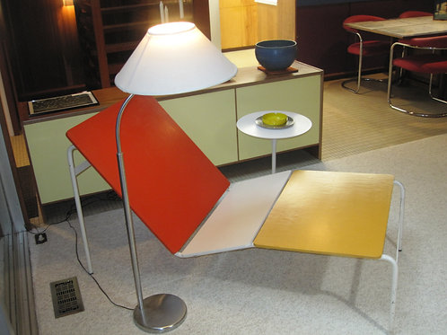 1966 Richard Knoll for Schulz base, top has been replace with painted plywood