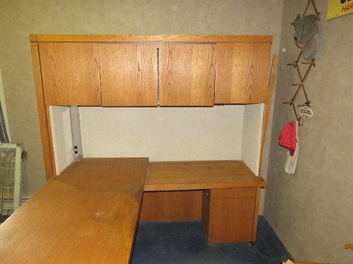 MCM Walnut Desk