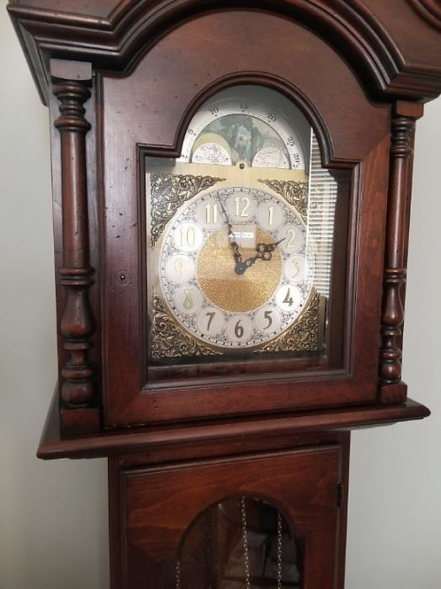 Howard Miller grandfather clock, model #610148